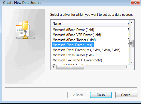 Select the type of data source to add.